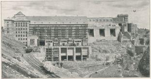 Construction of Ardnacrusha power station