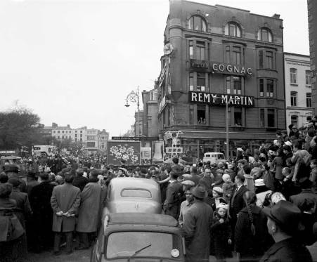 1961, corner of St Stephen's Green and Dawson Street, Dublin