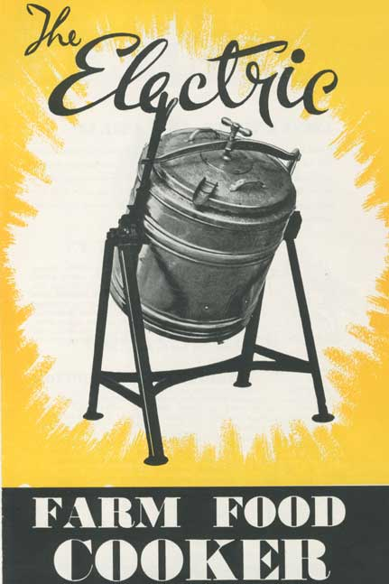 The electric farm food cooker