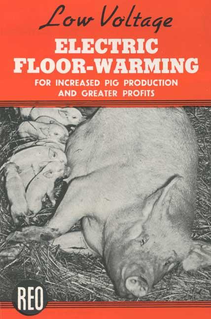 Electric floor-warming