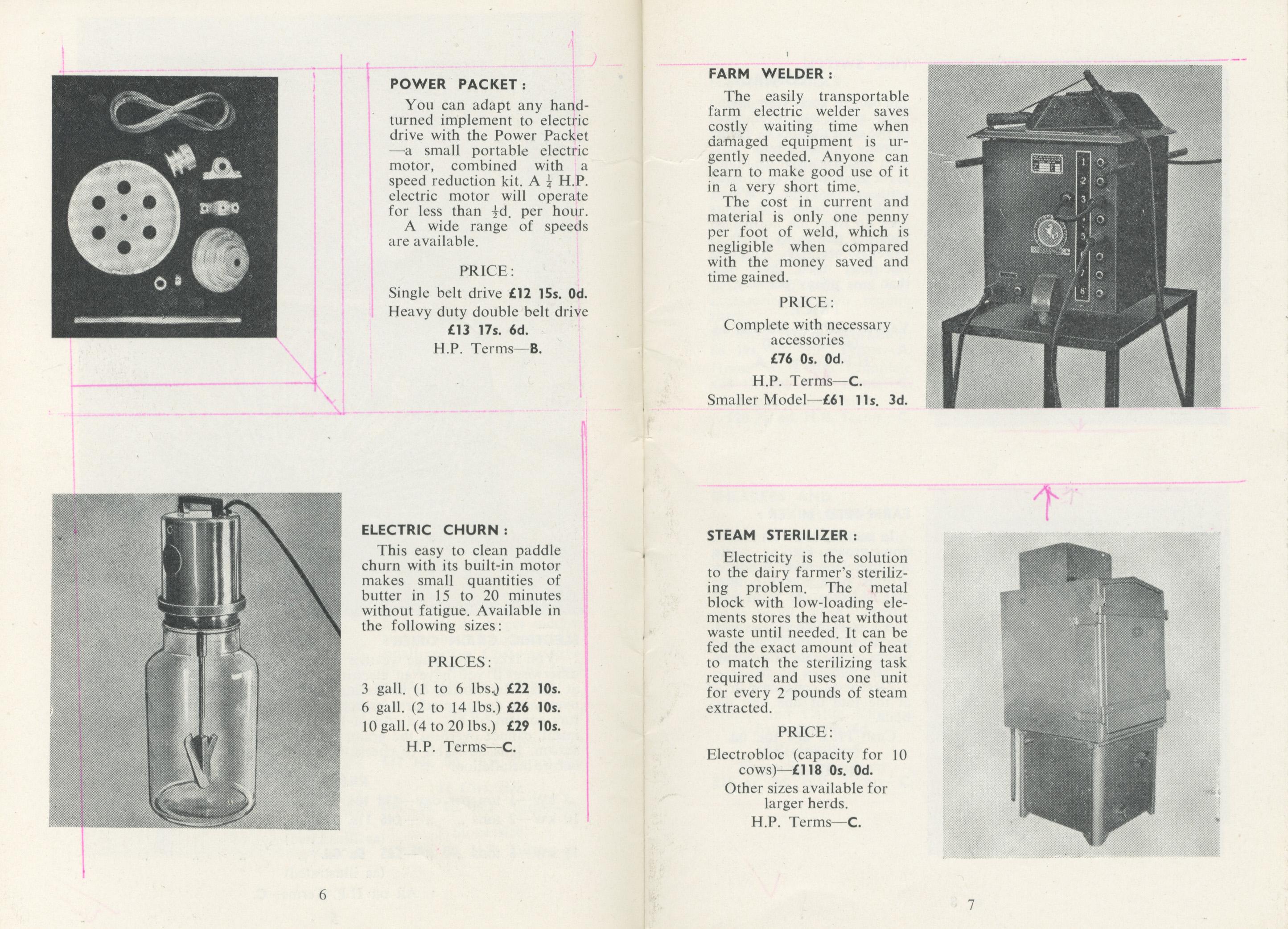 electrical farm appliances catalogue esb archives