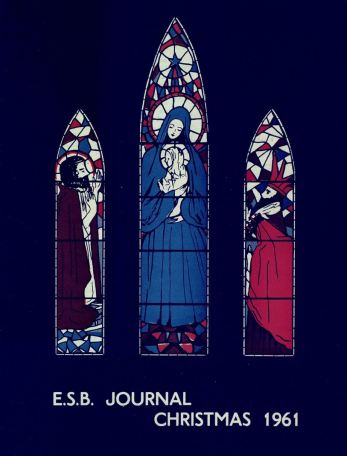 ESB Journal, December 1961, deisgned by Jean Malone, Doreen Power and Joan O'Connell, Civil Works Department