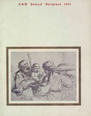 ESB Journal, December 1964, depicting 'The Holy Family', by Giovanni Francesco Barbieri, at the National Gallery of Ireland