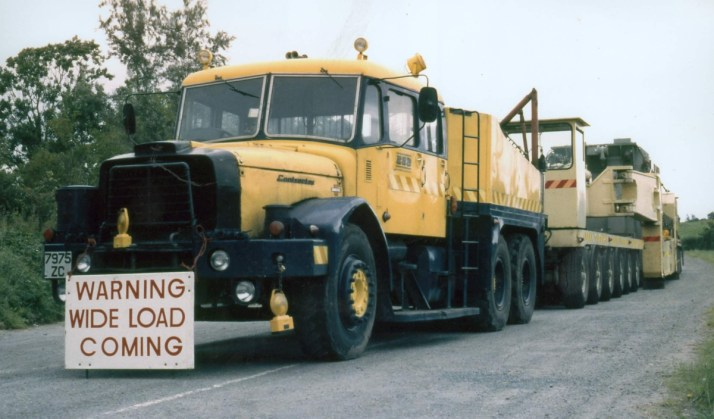 1971 Scammell 7975 ZC, retired 1996