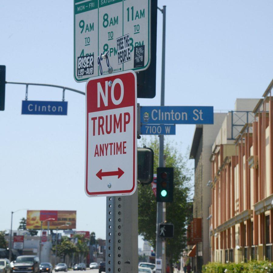 Señales de No Trump en Washington DC