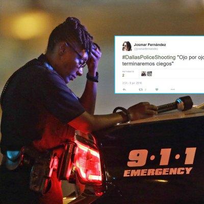 #DallasPoliceShooting: Este tuit sintetiza lo que millones pensamos