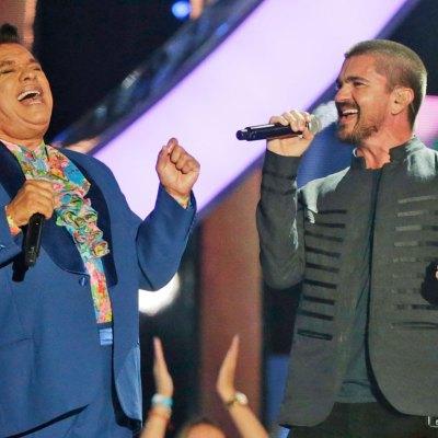 Juan Gabriel con Juanes