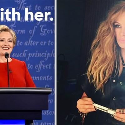 #EleccionesDePelícula: Cuáles artistas apoyan a Clinton y cuáles a Trump