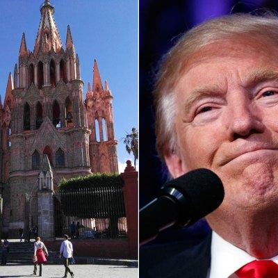 #DíaDeLaTolerancia: Donald Trump ya no es persona non grata en San Miguel de Allende