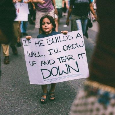 La imagen de este niño defendiendo a México nos llena de esperanza