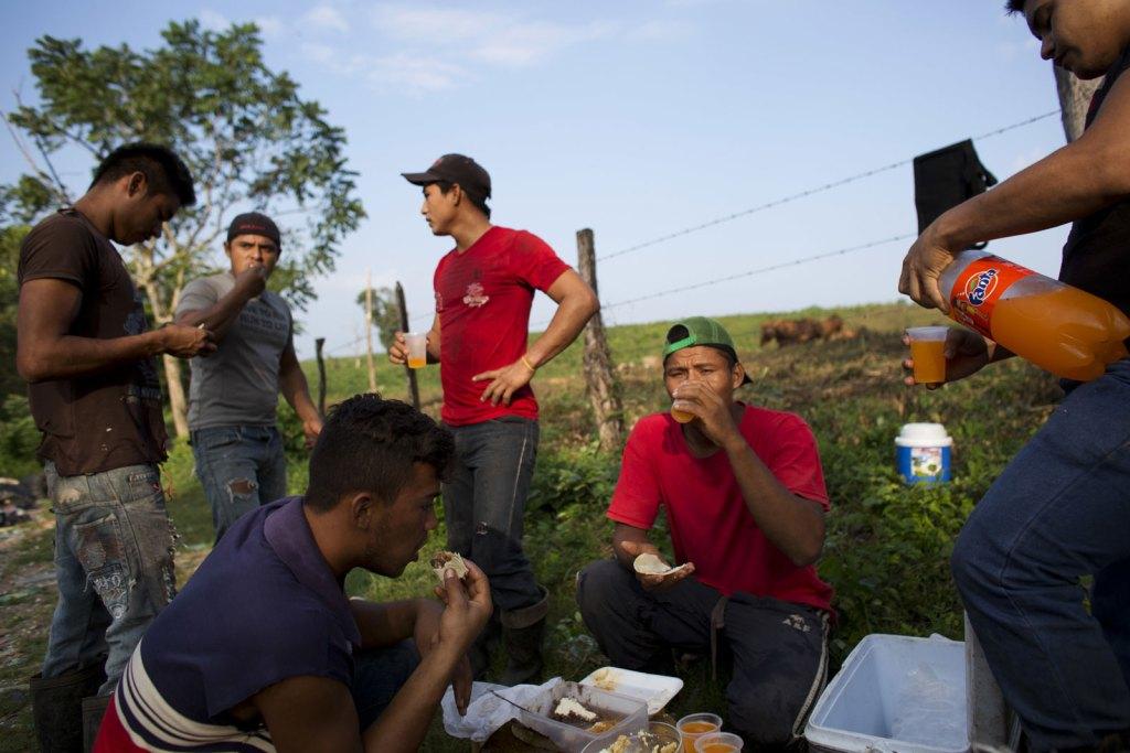 Carlos Mejía, inmigrante hondureño que busca asilo en México.