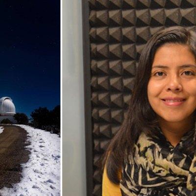 Los observatorios más imporantes del mundo le abren las puertas a una astrónoma mexicana