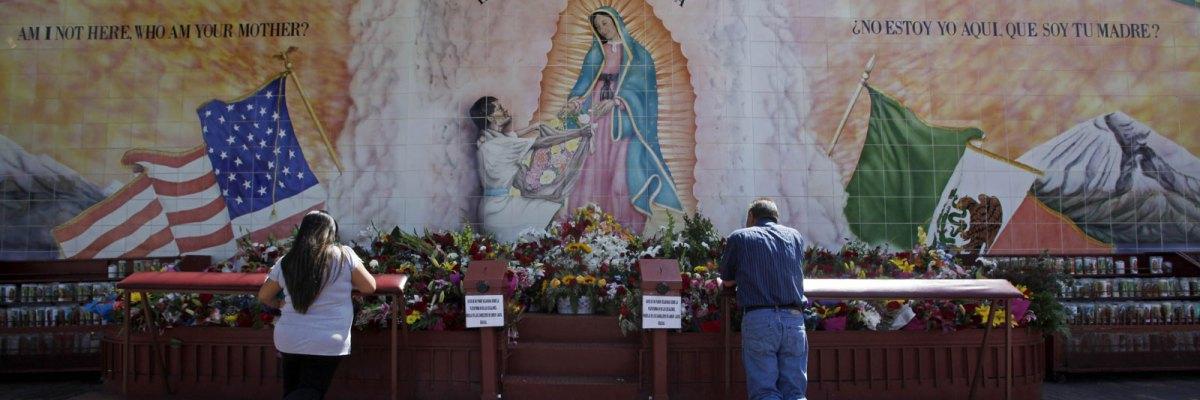 #Ayudadota: La Virgen de Guadalupe será un puente contra el muro