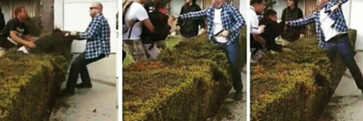 #Cobarde: Policía fuera de servicio de Los Ángeles agrede y dispara a un niño