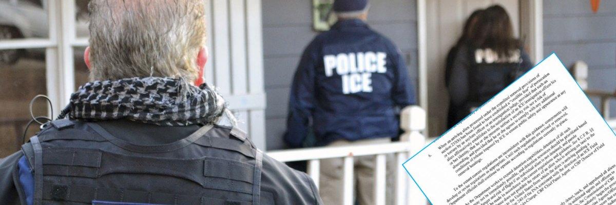 #Oficial: Todos los inmigrantes sin autorización están en peligro de deportación
