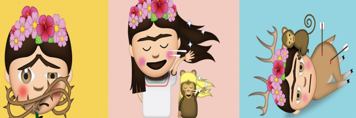 Emojis Frida Kahlo