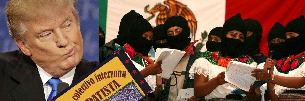 Cafe Zapatista Fuck Trump