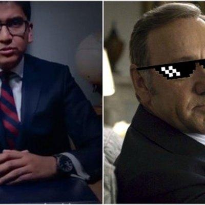 #JaJa: Político mexicano plagió discurso de House of Cards y creyó que nadie se daría cuenta