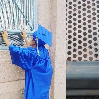 #Viral: Joven se graduó en la frontera para poder estar con su mamá deportada