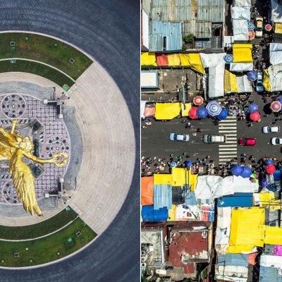 México visto desde el aire