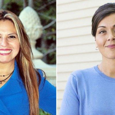 Elizabeth Guzmán y Hala Ayala