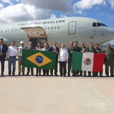 Como gran amigo, Brasil envía toneladas de ayuda a México