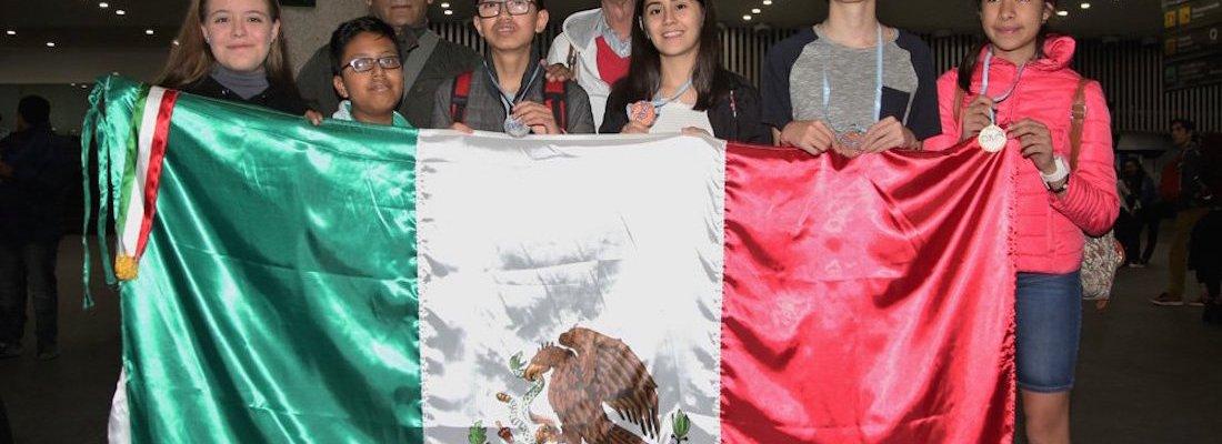 #MateMexas: Chavos mexicanos arrasan con las medallas en Olimpiada de Matemáticas