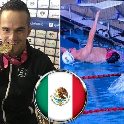 #TRItón: Gustavo Sánchez arrasó con las medallas en el mundial de Para-Natación