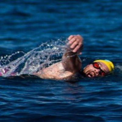 Nadador mexicano Antonio Argüelles