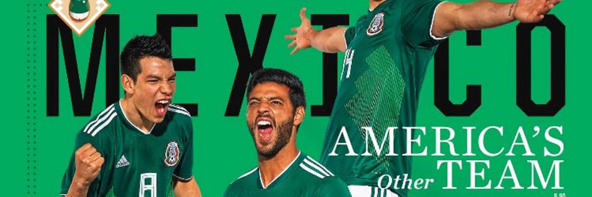 #Histórico: Por primera vez la selección mexicana ocupa la portada de Sports Illustrated