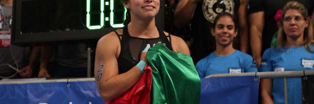 Brenda Castro, la atleta mexicana que ganó los juegos de CrossFit y ahora representará a Latinoamérica a nivel mundial