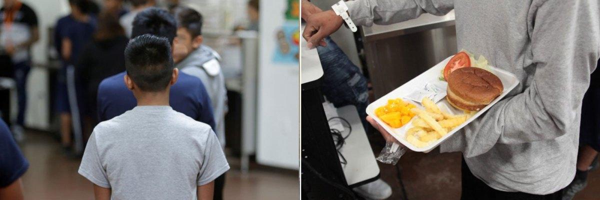 #WTF: Así es por dentro el Walmart que convirtieron en una cárcel para niños inmigrantes