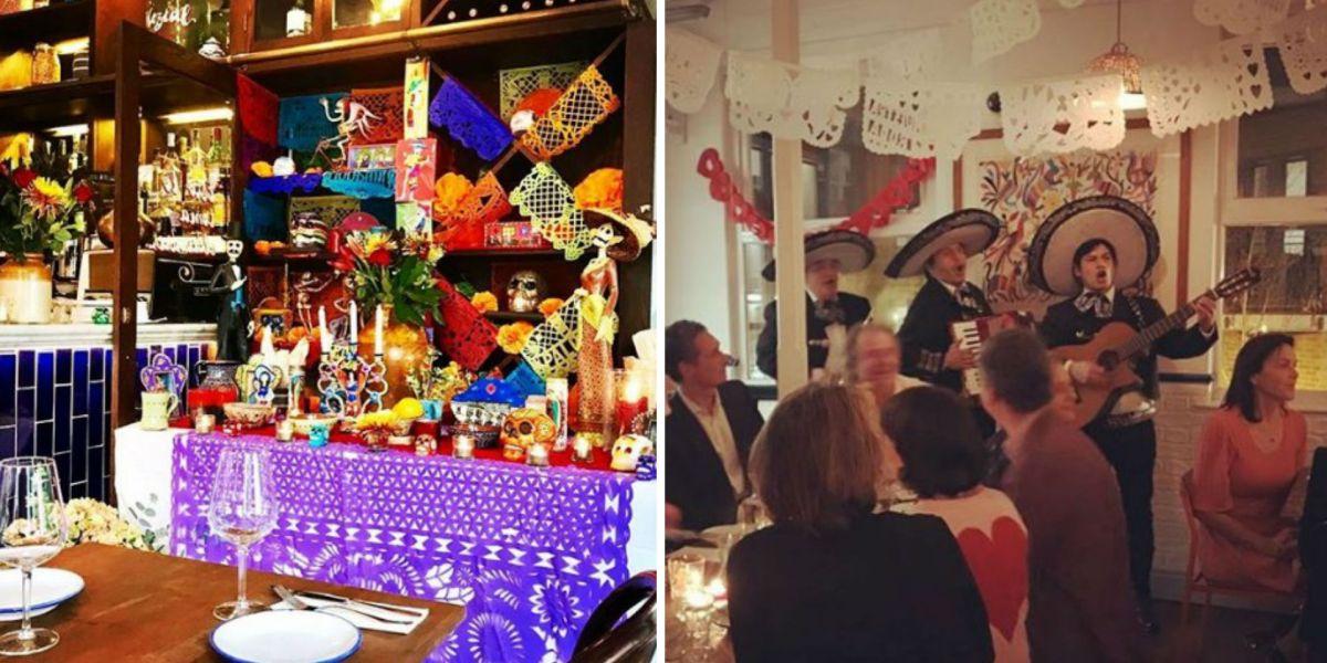 Restaurante mexicano en Londres - Santo Remedio