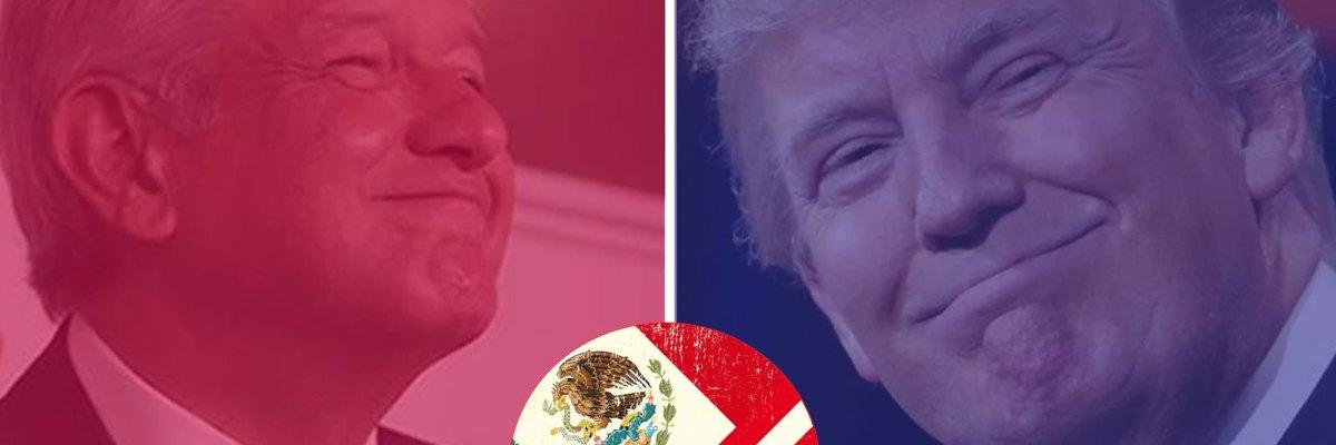 #NewCompas: A horas de su triunfo, Trump ya le habló a AMLO