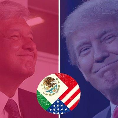 #PolosIguales: ¿Cómo será la relación de México con Trump si gana AMLO?