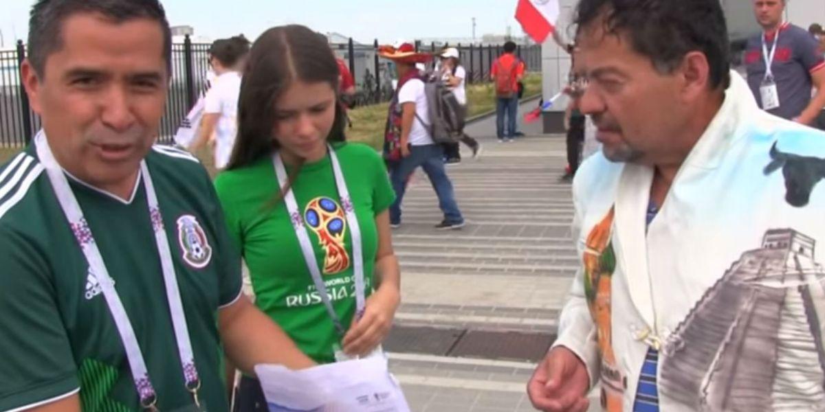 #Corazonzote: Le cumplió el sueño a otro mexicano y le regaló un boleto para ver al Tri