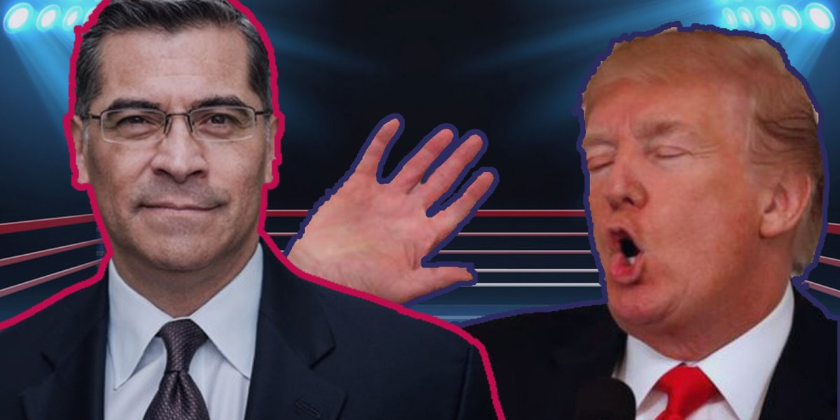 Xavier Becerra vs Donald Trump
