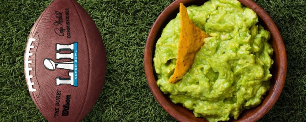 ¿Cómo el guacamole se convirtió en la botana favorita para ver el Super Bowl?