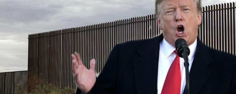 Donald Trump sigue empeñado en construir el muro y esta es su nueva estrategia para hacerlo