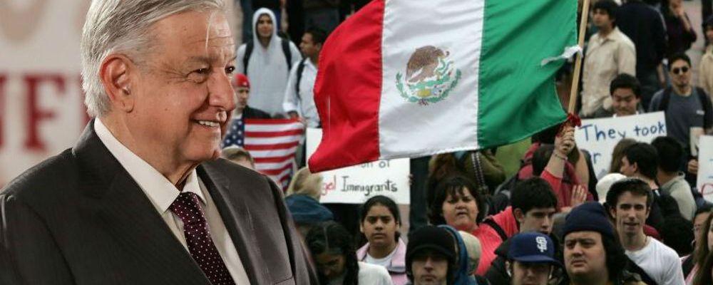 Este es el poder que AMLO le dará a los mexicanos en Estados Unidos