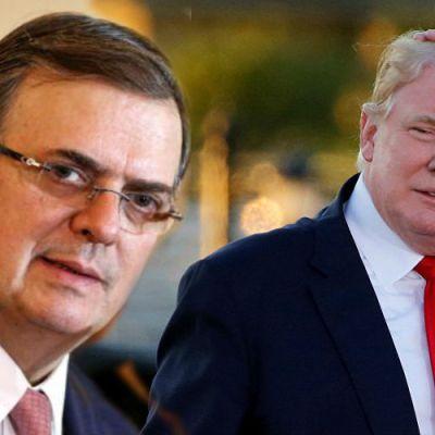 En México ya se cansaron de Trump; Marcelo Ebrard lanza duro mensaje