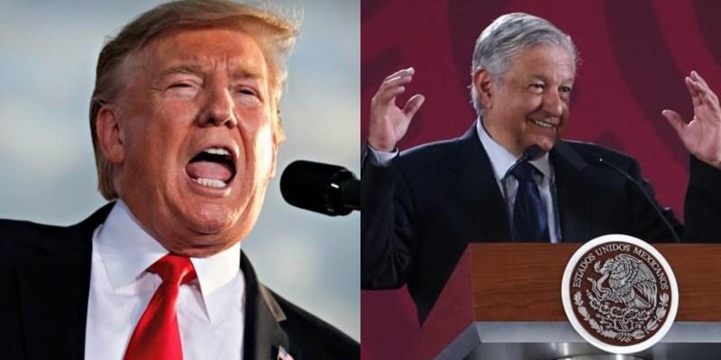 Donald Trump lanza una tremenda amenaza al gobierno de México