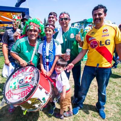 Mexicanos la rompen en California en inicio de Copa Oro (FOTOS)