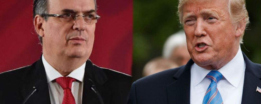 Marcelo Ebrard sale en defensa de México tras acuerdo con Estados Unidos