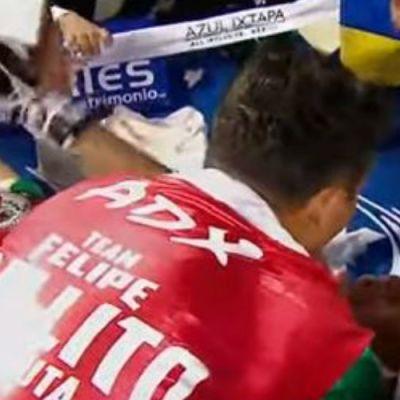 Tras combate, boxeador mexicano se desvanece en pleno cuadrilátero