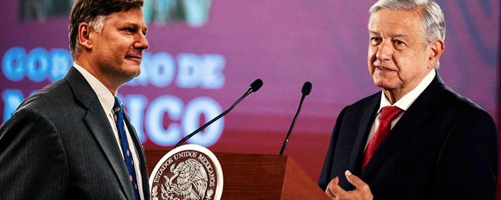 Esto es lo que espera el gobierno de México del nuevo embajador de EUA