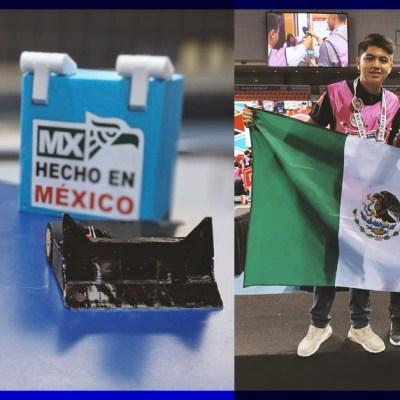 ¡Tremendos! Mexicanos se llevan primer lugar en concurso de robótica en China