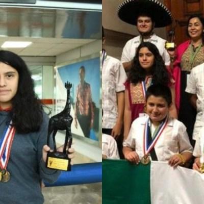 Ella es la mexicana que logró hacer historia al ganar 3 medallas de matemáticas