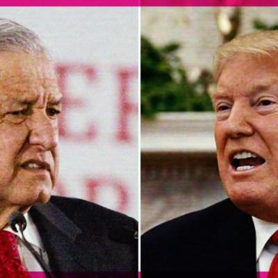 AMLO responde a Donald Trump sobre sus más recientes dichos contra México