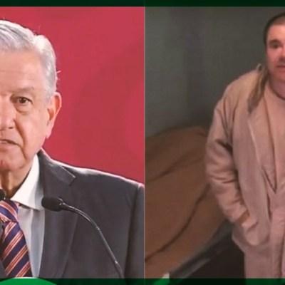 El sorpresivo mensaje de AMLO para Joaquín Guzmán Loera